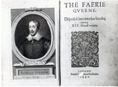 Portrait of Edmund Spenser and the Frontispiece to His Poem 'The Faerie Queene