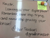 """""""Learning is your superpower."""""""