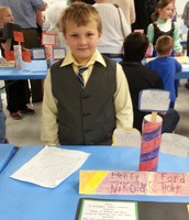 Nikolas as Henry Ford- What will he invent next?