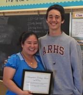 Ms. Vasquez with Stephen Blecha