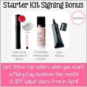 Starter Kit Signing Bonus!