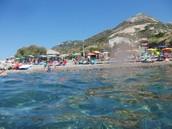 Spiaggia e Relitto di Pomonte
