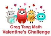 Math Valentine Challenge