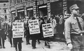 Taking away Jewish rights