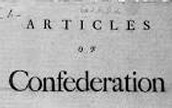 Definition of Articles of Confederation