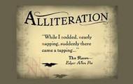 Alliteration picture