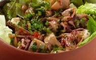Salada de Lula picante