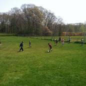 Fun in the sun at recess!