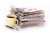 Reduce clutter - Drop off newspapers & magazines to us!