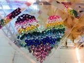 Crystals by Swarovski!