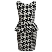 The Houndstooth Monochrome