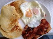 El Pan-Kay-co Platter (Pancake Platter)