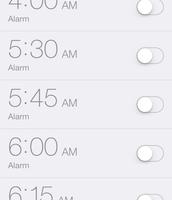 Using Alarm to Wake Up!