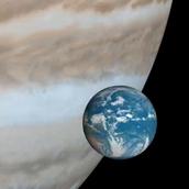 Size of Jupiter
