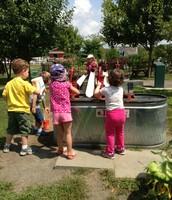 Water fun at Brookhollow