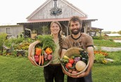 Food from the CSA is grown by local farmers!