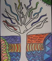 Tree Contour Drawing