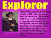 Information of Columbus