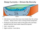 Deep Water Currents
