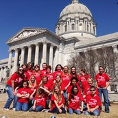 Great job at the capital, Rockin' Roadrunners!