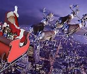 The Physics of Santa's Christmas Eve Delivery
