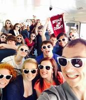College/Career Bus Selfie