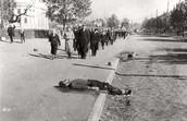 Man lies dead in Ukraine street
