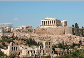 Who worshipped the Temple of Athena Nike and why?