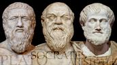 Socrates, Plato, and Aristotole