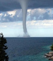 Waterspout Tornado