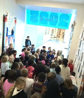 3rd graders and the Underground Railroad
