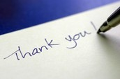 Write them a Thank You