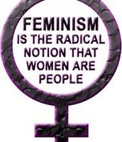 Feminism is the Radical Notion that Women People