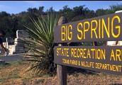 entrance of big spring state park