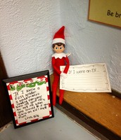 "Day 4: Bob left us supplies to make a fun writing craftivity-""If I Were an Elf..."""