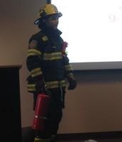 A visit from Firefighter Chris DiFerdinando!