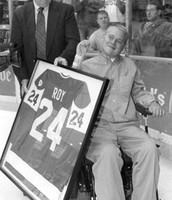 Travis getting his number retired