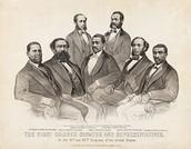 First Black to speak in congress ( Jeffreson Franklin Long )