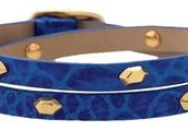 Hudson Wrap Bracelet Blue