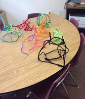 Design Challenge: build the tallest tower with 15 pipe cleaners