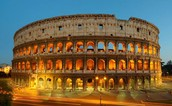This is the colosseum