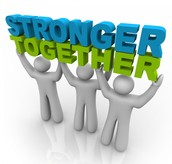 """Alone we are strong, together we are stronger."" ~ Anonymous"