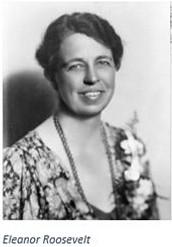 Some Background information for Eleanor Roosevelt