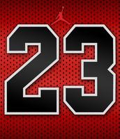 veinte y tres