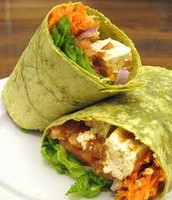 OUR NEW VEGETABLE WRAP