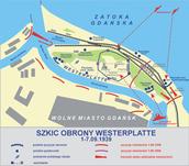 Szkic obrony Westerplatte...