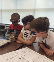 Young Scientists at Work in Rocks and Minerals