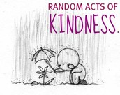 There are no random acts