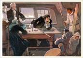 Встреча В.Беринга с камчадалами