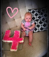 She turned 4 months!